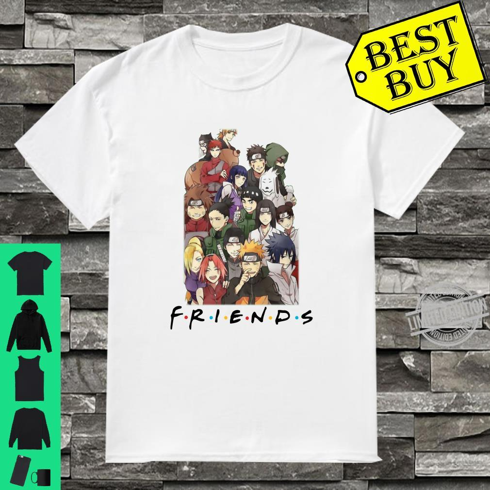 All characters naruto and friends shirt