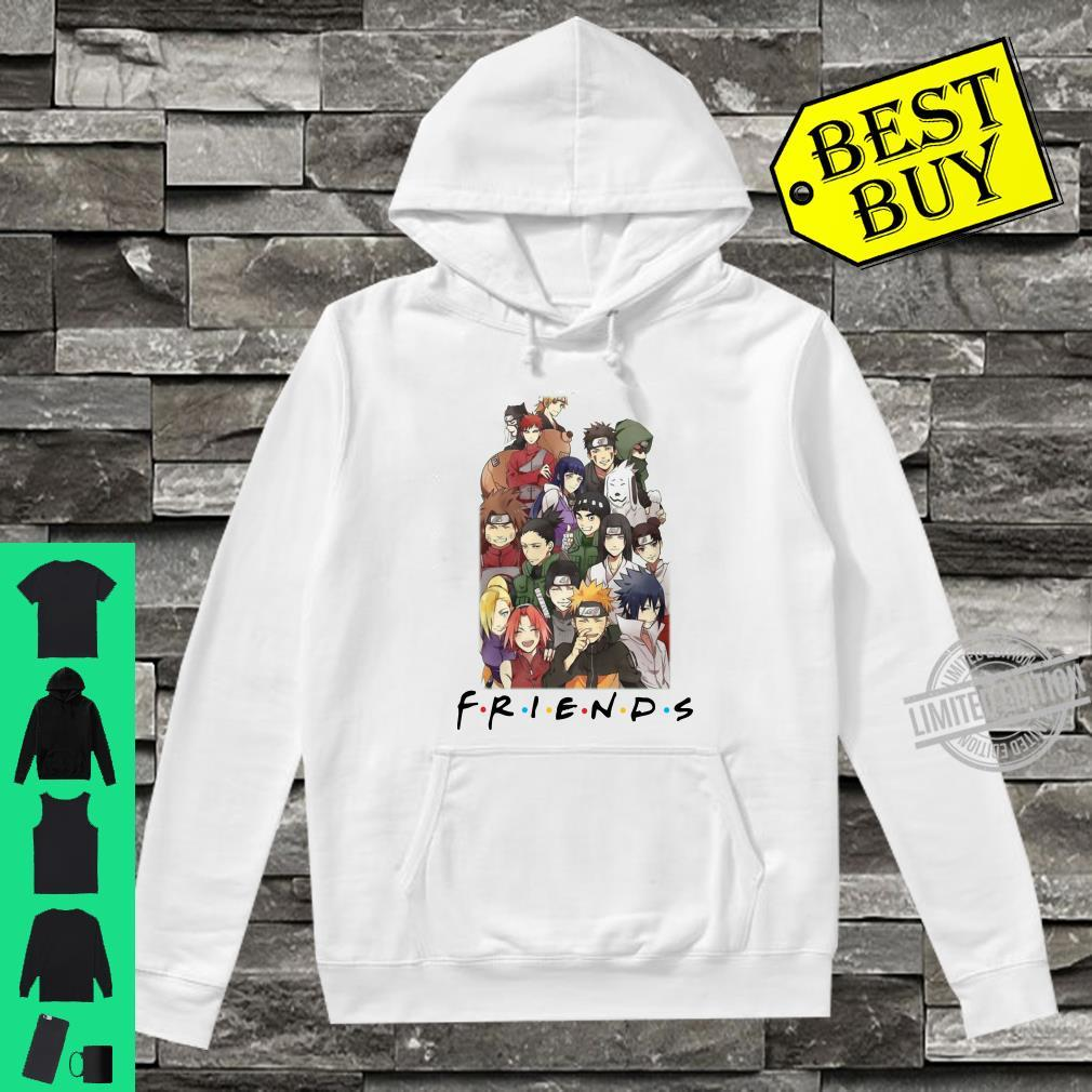 All characters naruto and friends shirt hoodie