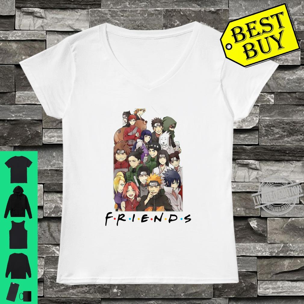 All characters naruto and friends shirt ladies tee