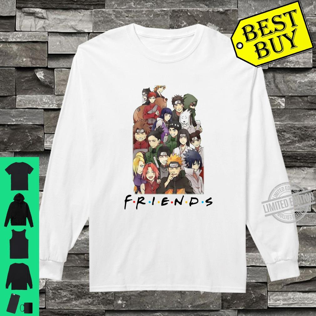 All characters naruto and friends shirt long sleeved