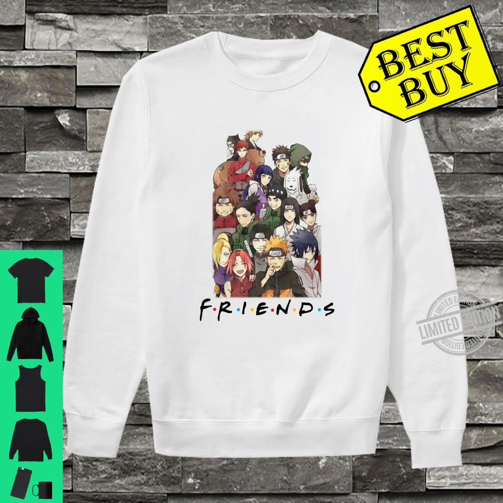 All characters naruto and friends shirt sweater