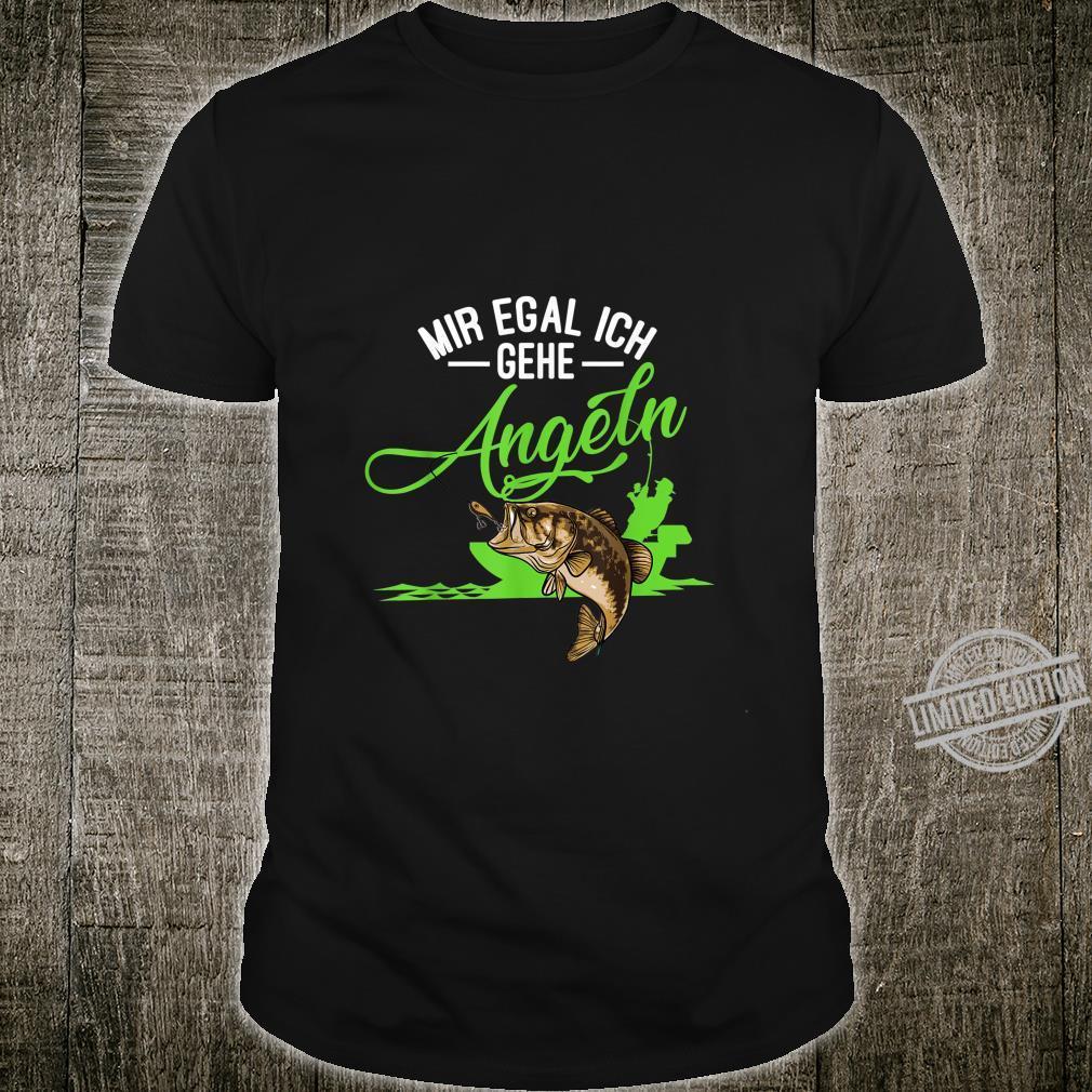 Angler Shirt Herren Angeln Geschenk für Angler Outfit Shirt
