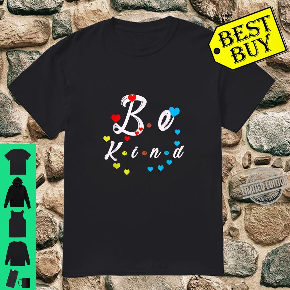 AntiBullying Autism Down Syndrome Awareness Be Kind Shirt