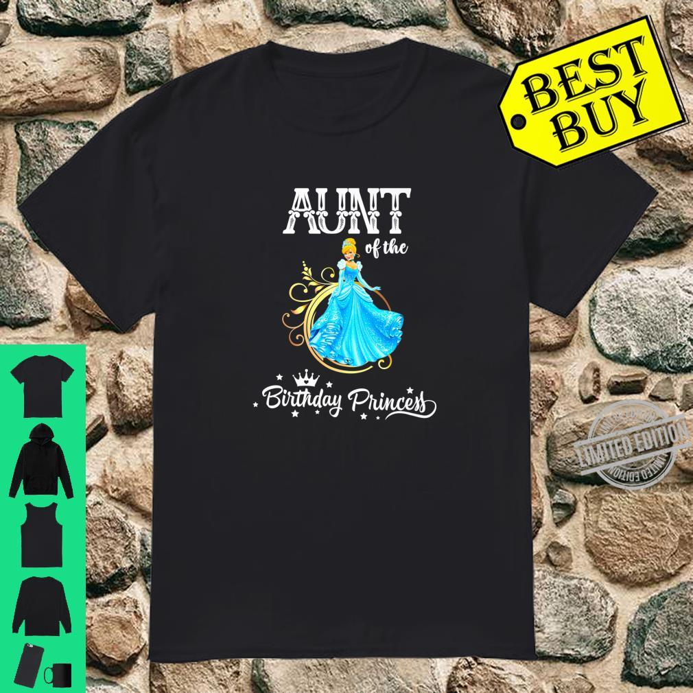 Aunt of the Birthday Princess Party Shirt