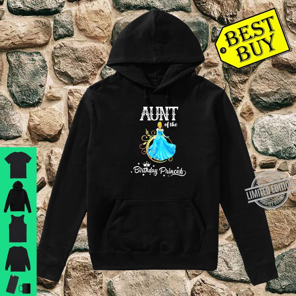 Aunt of the Birthday Princess Party Shirt hoodie