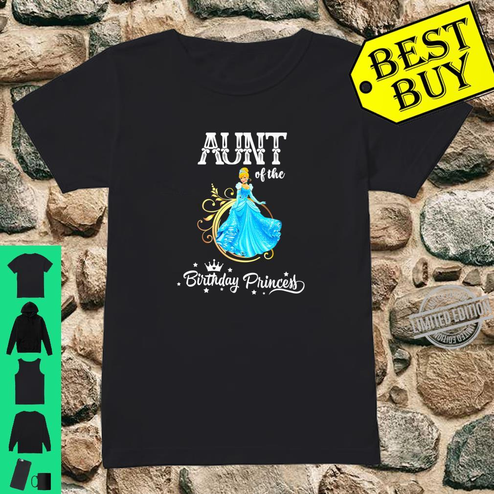 Aunt of the Birthday Princess Party Shirt ladies tee