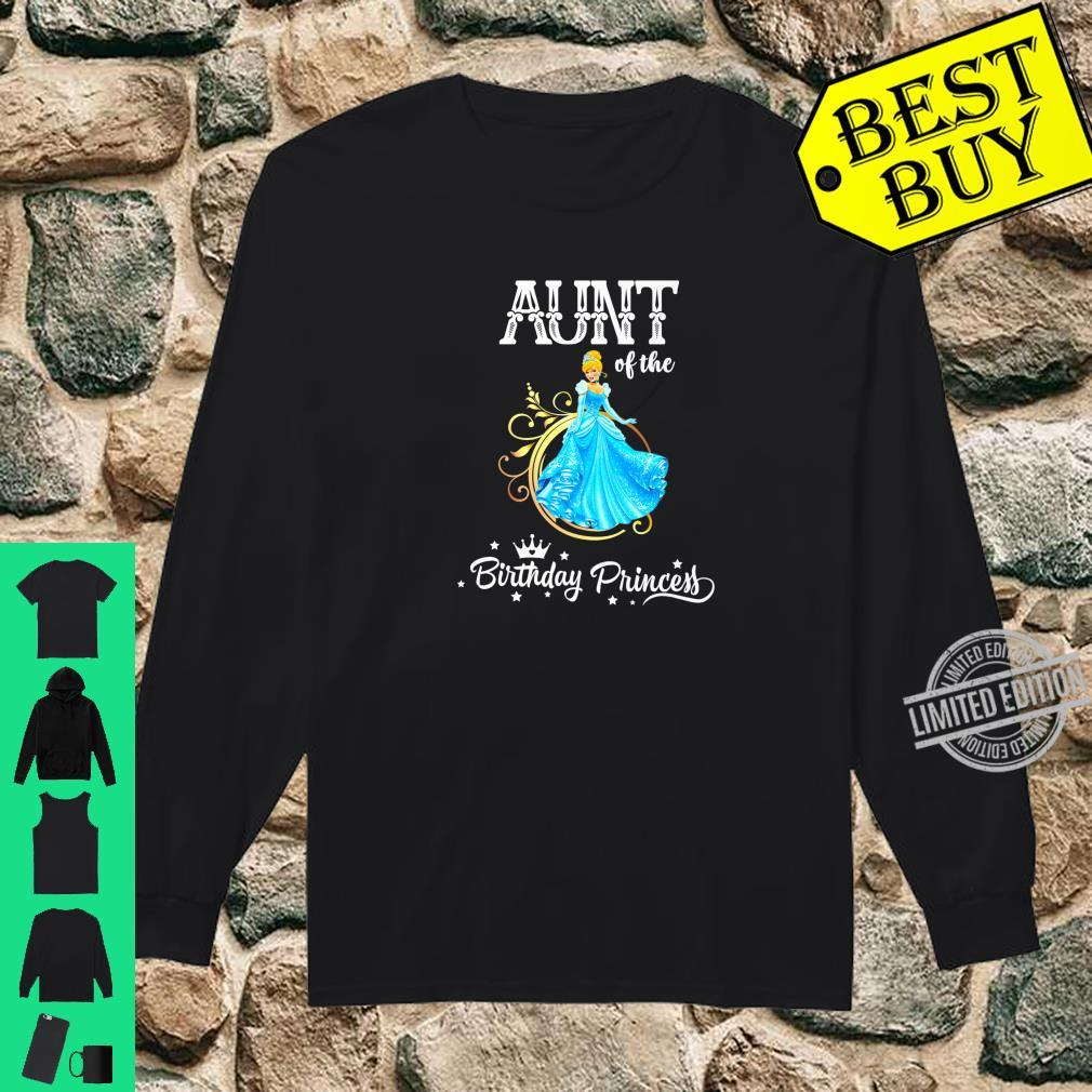 Aunt of the Birthday Princess Party Shirt long sleeved