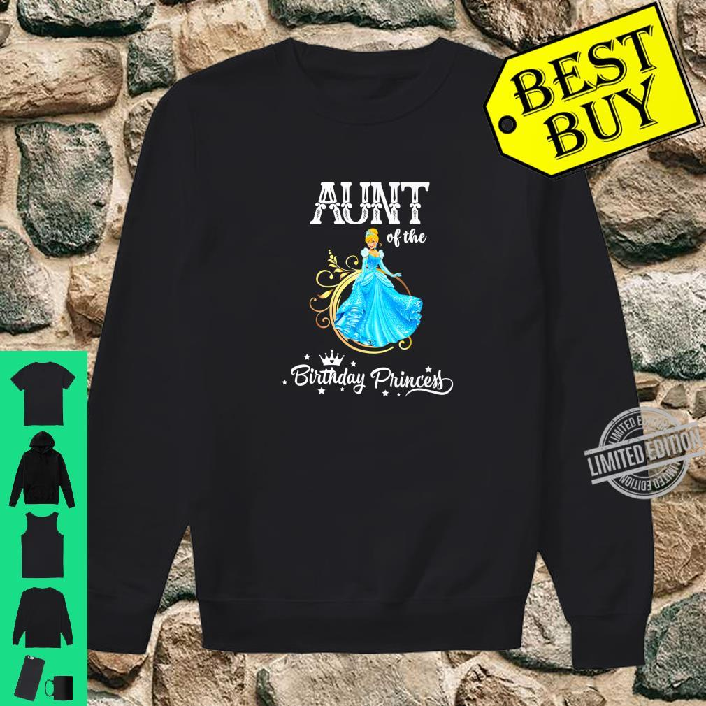 Aunt of the Birthday Princess Party Shirt sweater