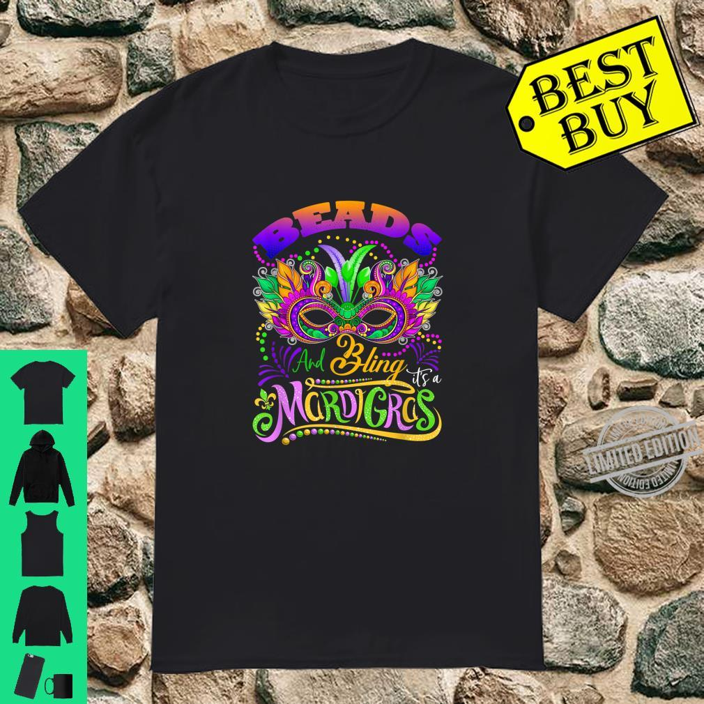 Beads And Bling It's A Mardi Gras Thing Shirt