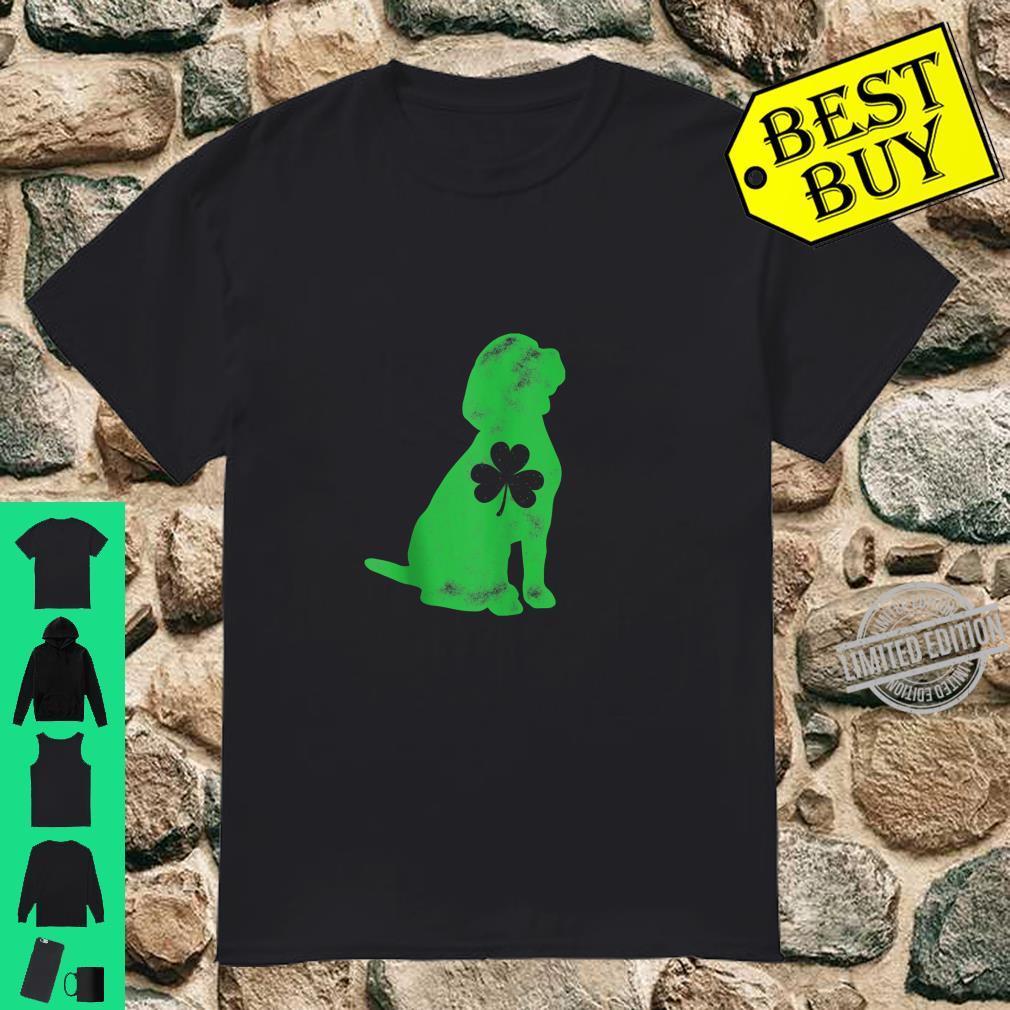 Beagle St Patricks Day Shamrock Dog Shirt