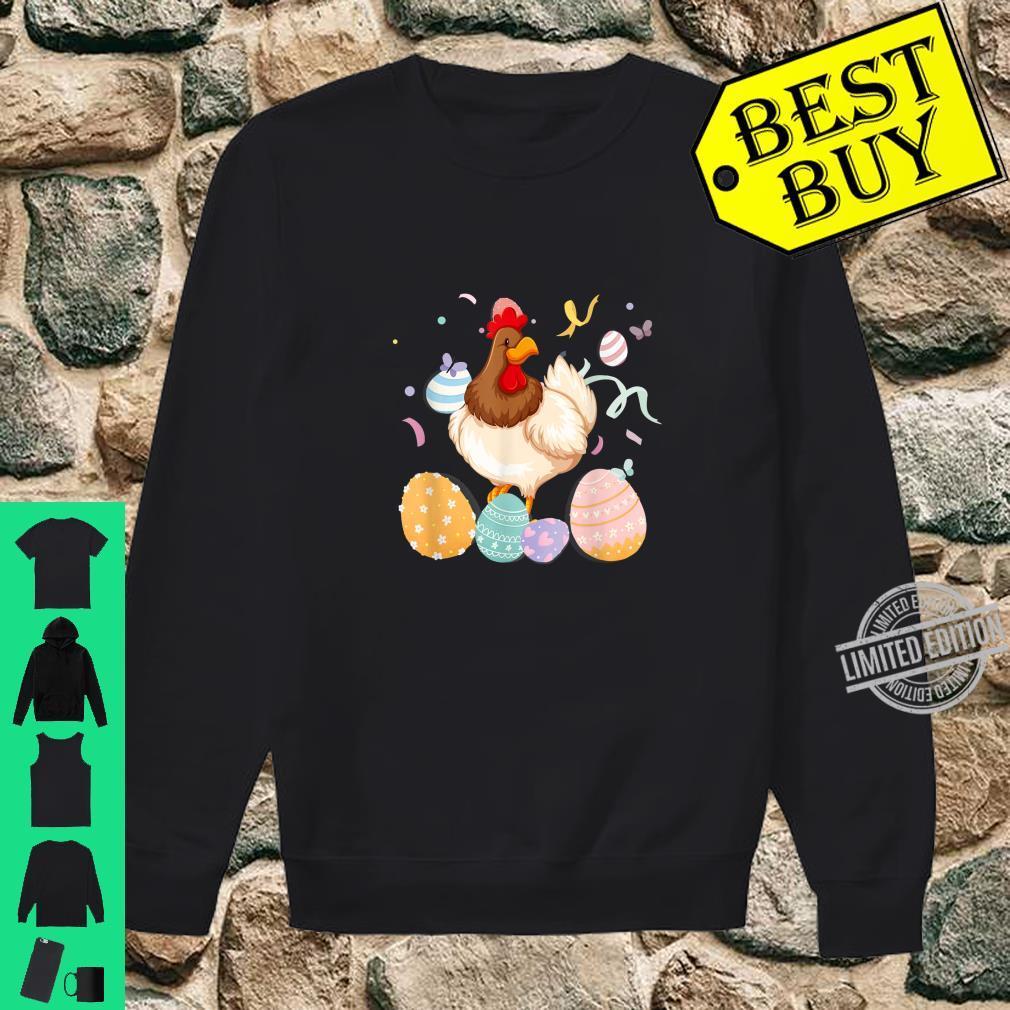 Chicken Easter Egg Bunny Ears Costume Rabbit Girls Shirt sweater