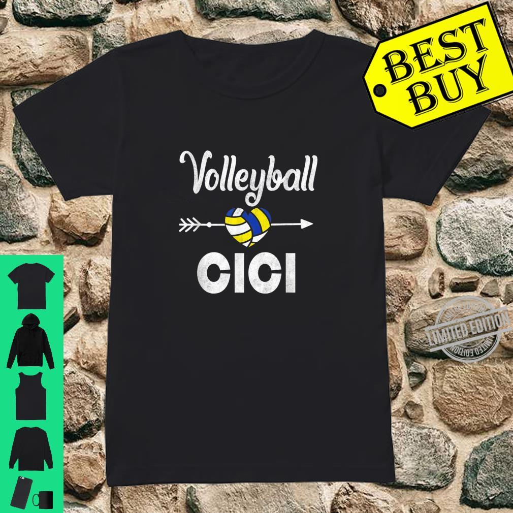 Cici Volleyball Mother's Day Shirt ladies tee