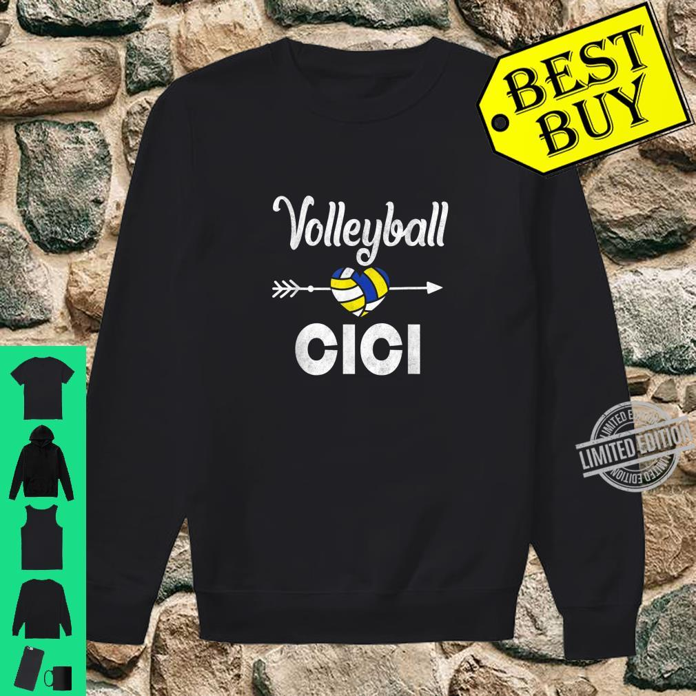 Cici Volleyball Mother's Day Shirt sweater