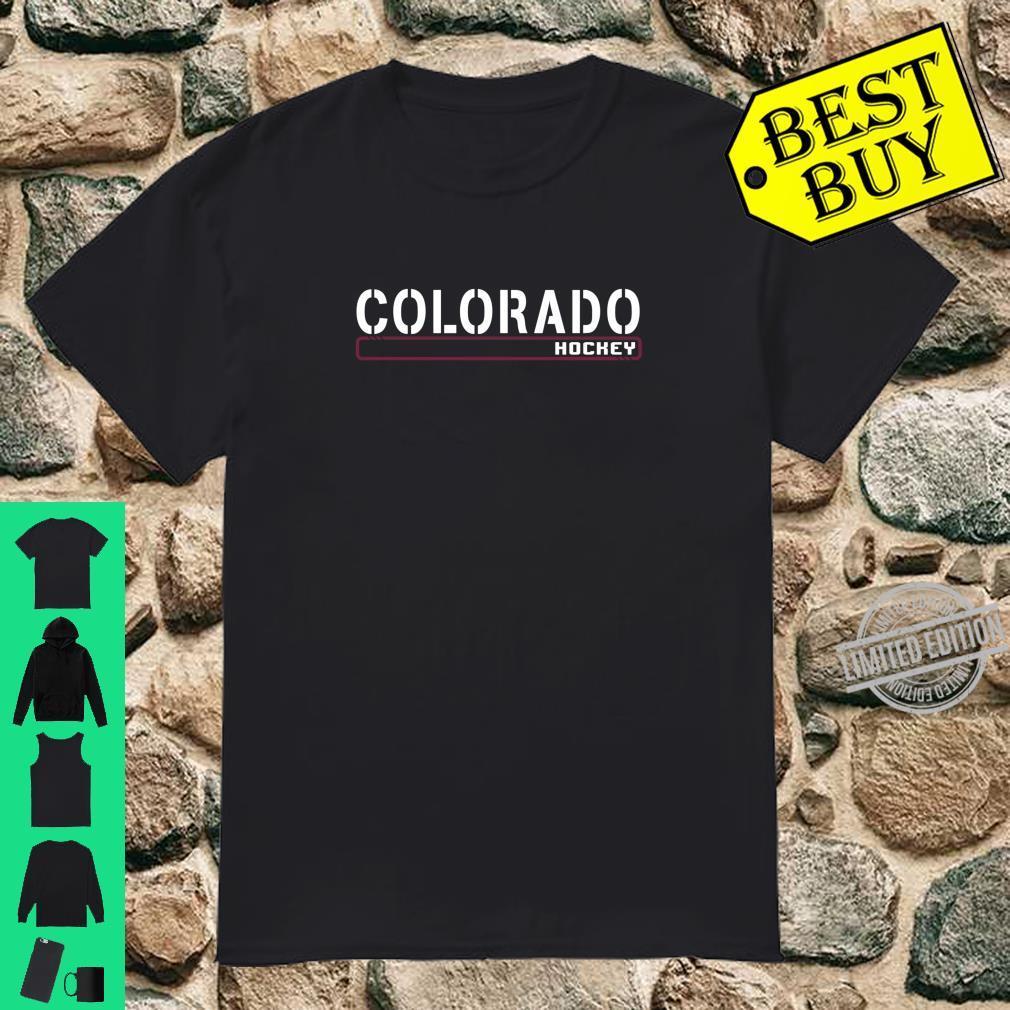 Colorado Hockey Off Ice Training Fan Gear Shirt