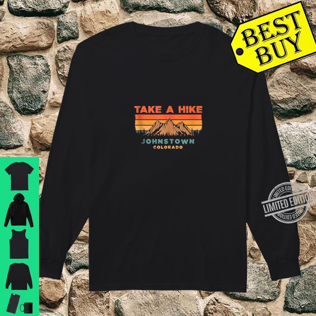 Colorado Vintage Take A Hike Johnstown Moutain Shirt long sleeved