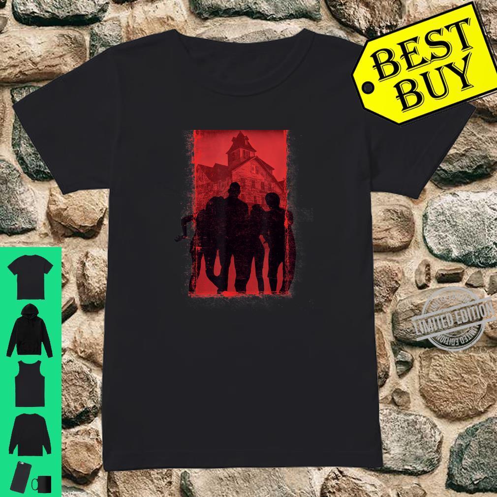Cool Zombie Horror Shirt ladies tee