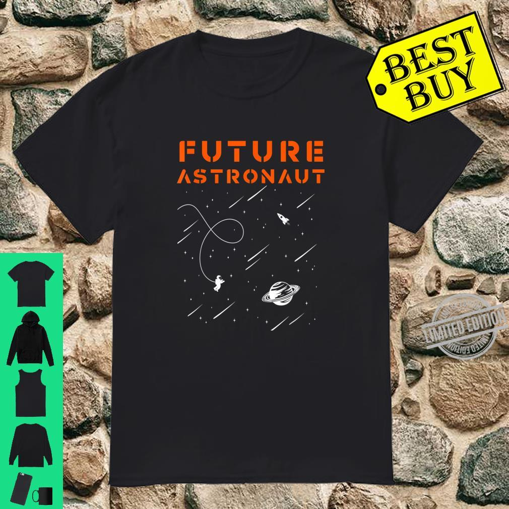 Cosmonaut Outer Space Boys Girl Future Astronaut Shirt