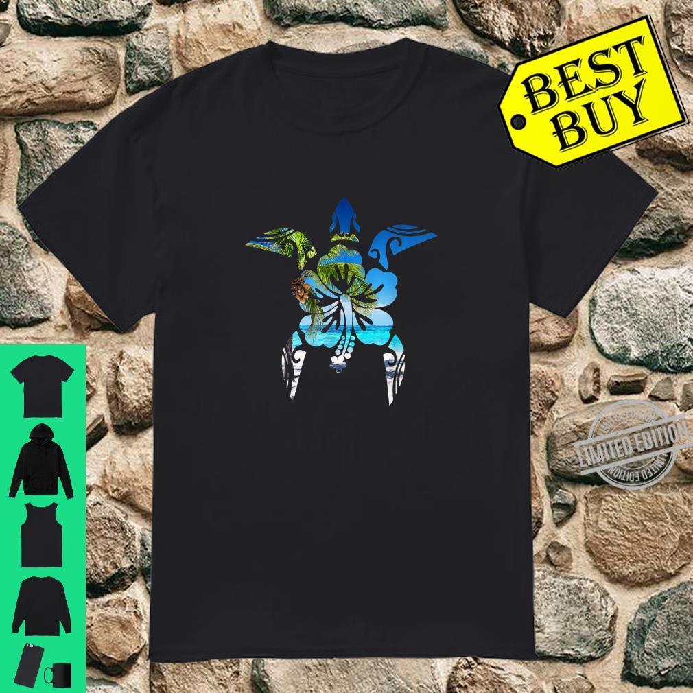 Cute Sea Turtle 50th Anniversary Sea Turtle Silhouette Shirt