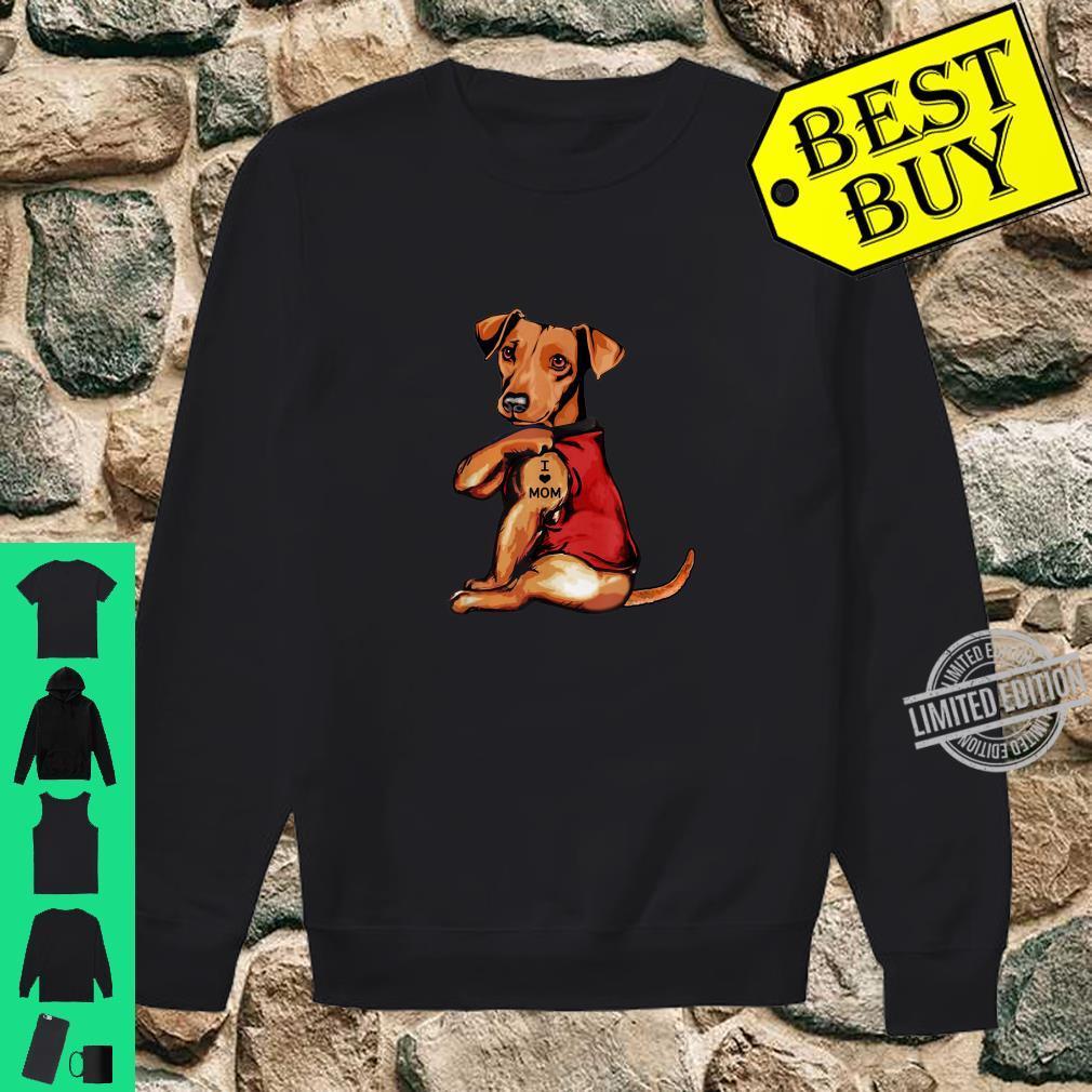 Dachshund I Love Mom Dogs Shirt sweater
