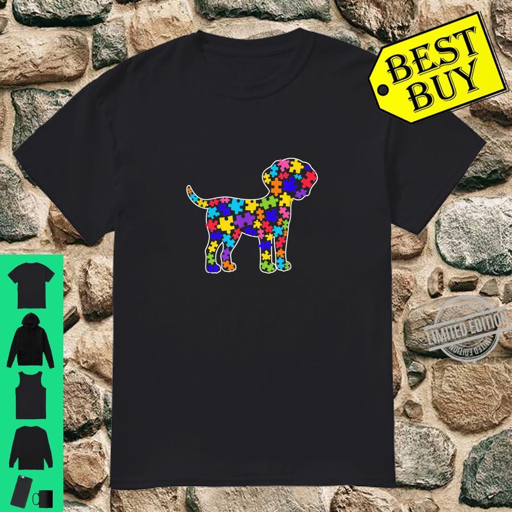 Dalmatian Autism Awareness For Dog Dad Mom Shirt