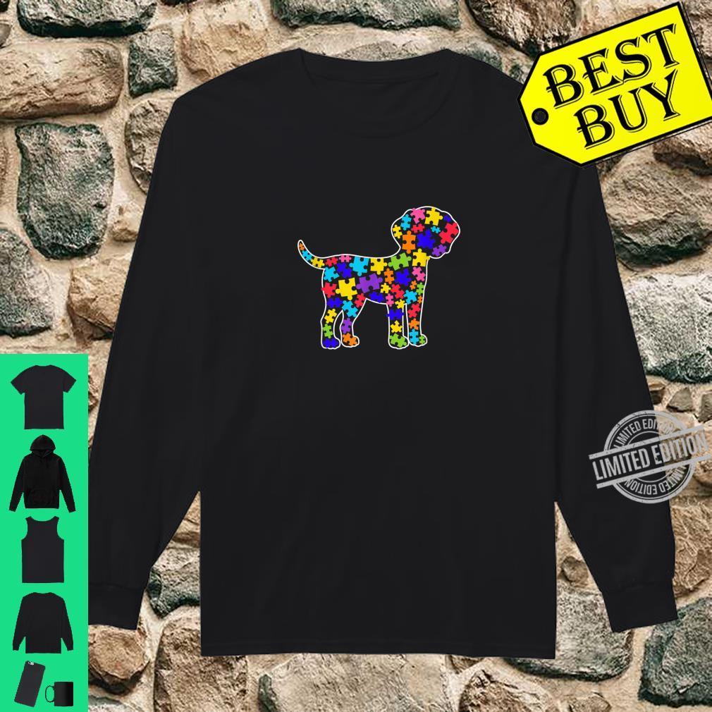 Dalmatian Autism Awareness For Dog Dad Mom Shirt long sleeved