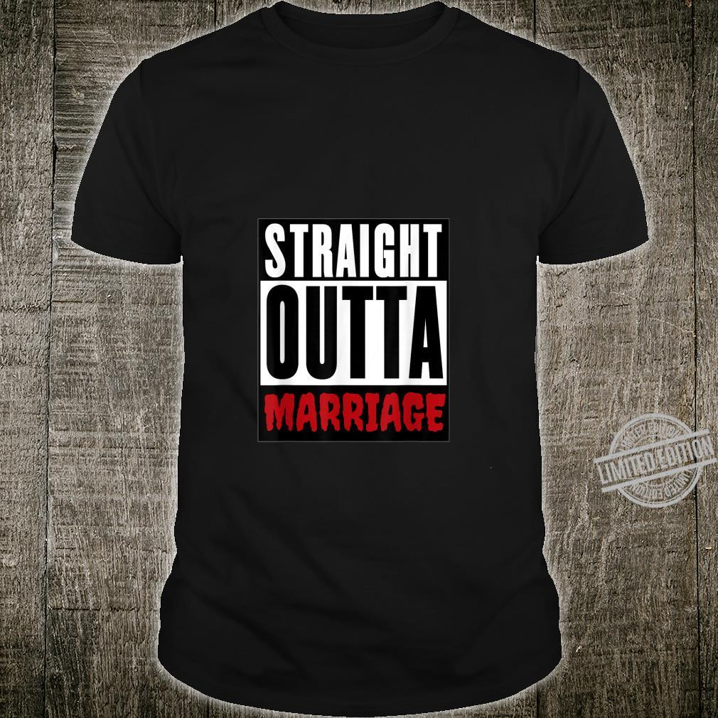 Divorcee Straight Outta Marriage Shirt