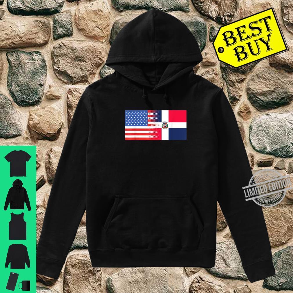 Dominican American Flag Half Dominican Half American Shirt hoodie