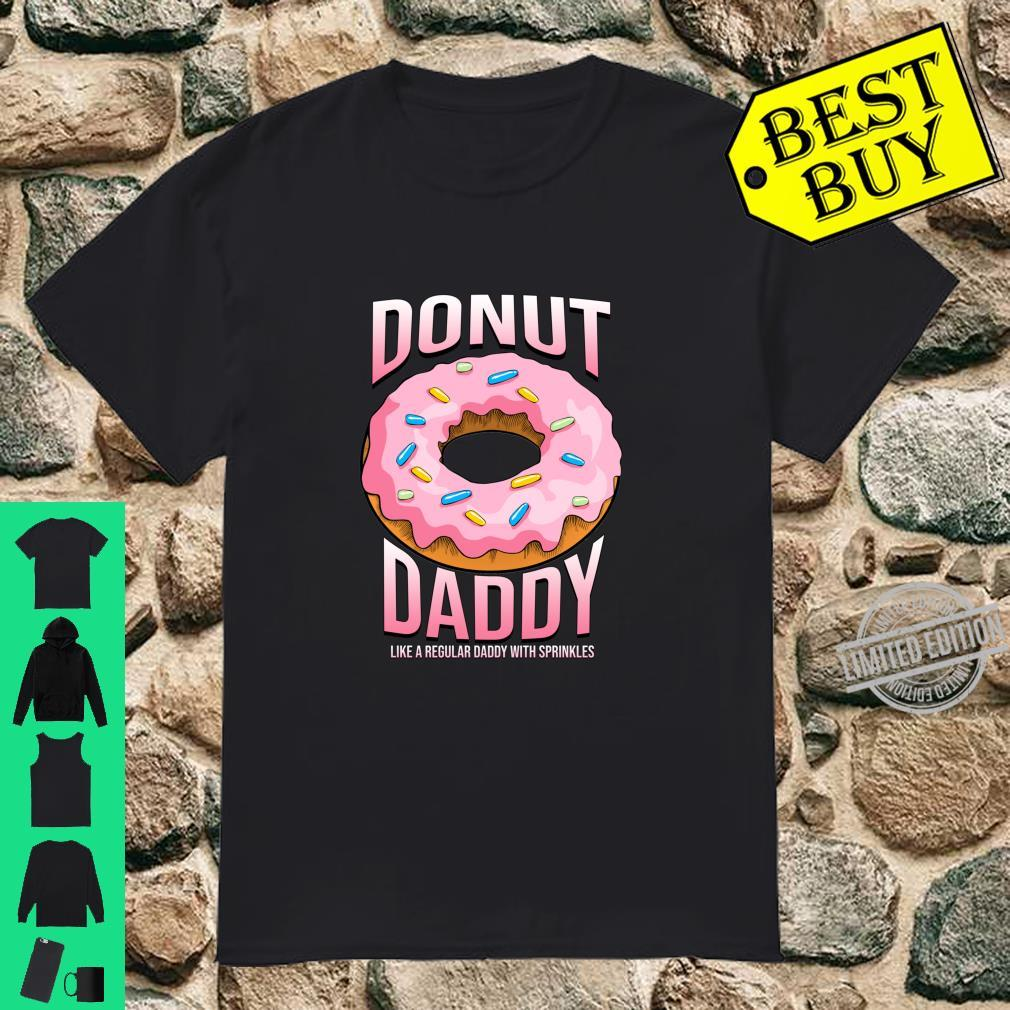 Donut Daddy Shirt for Dads Sprinkles Food Shirt