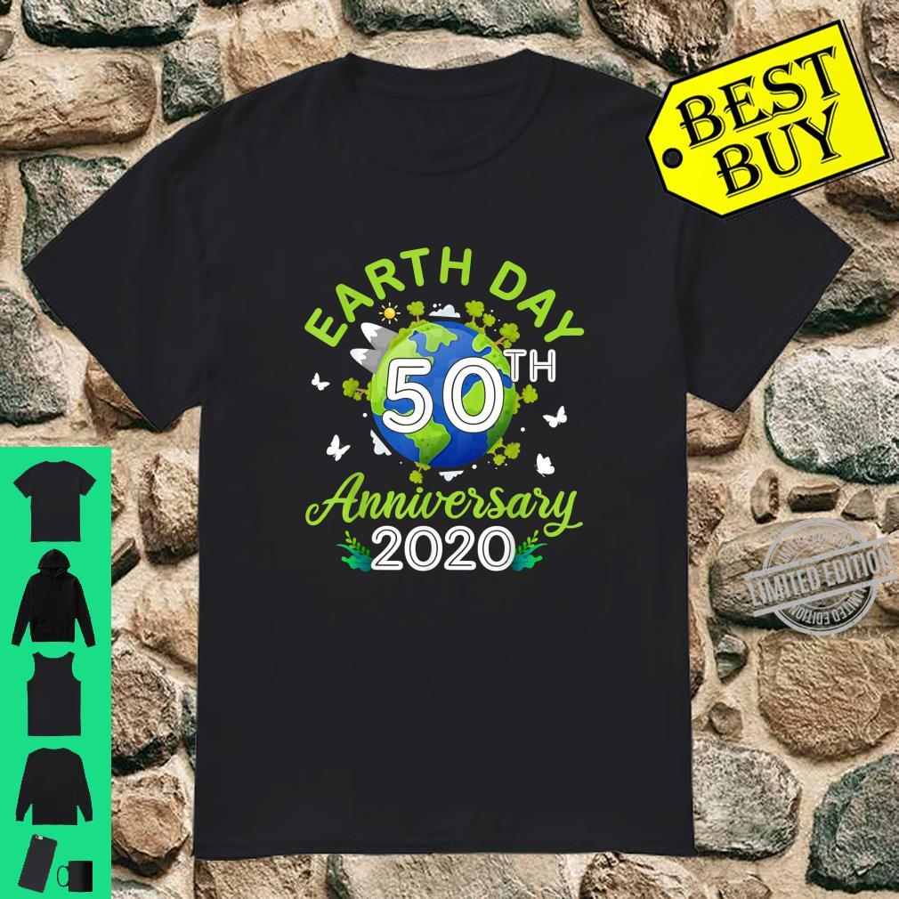 Earth Day 50Th Anniversary 2020 Awesome Ideas Shirt