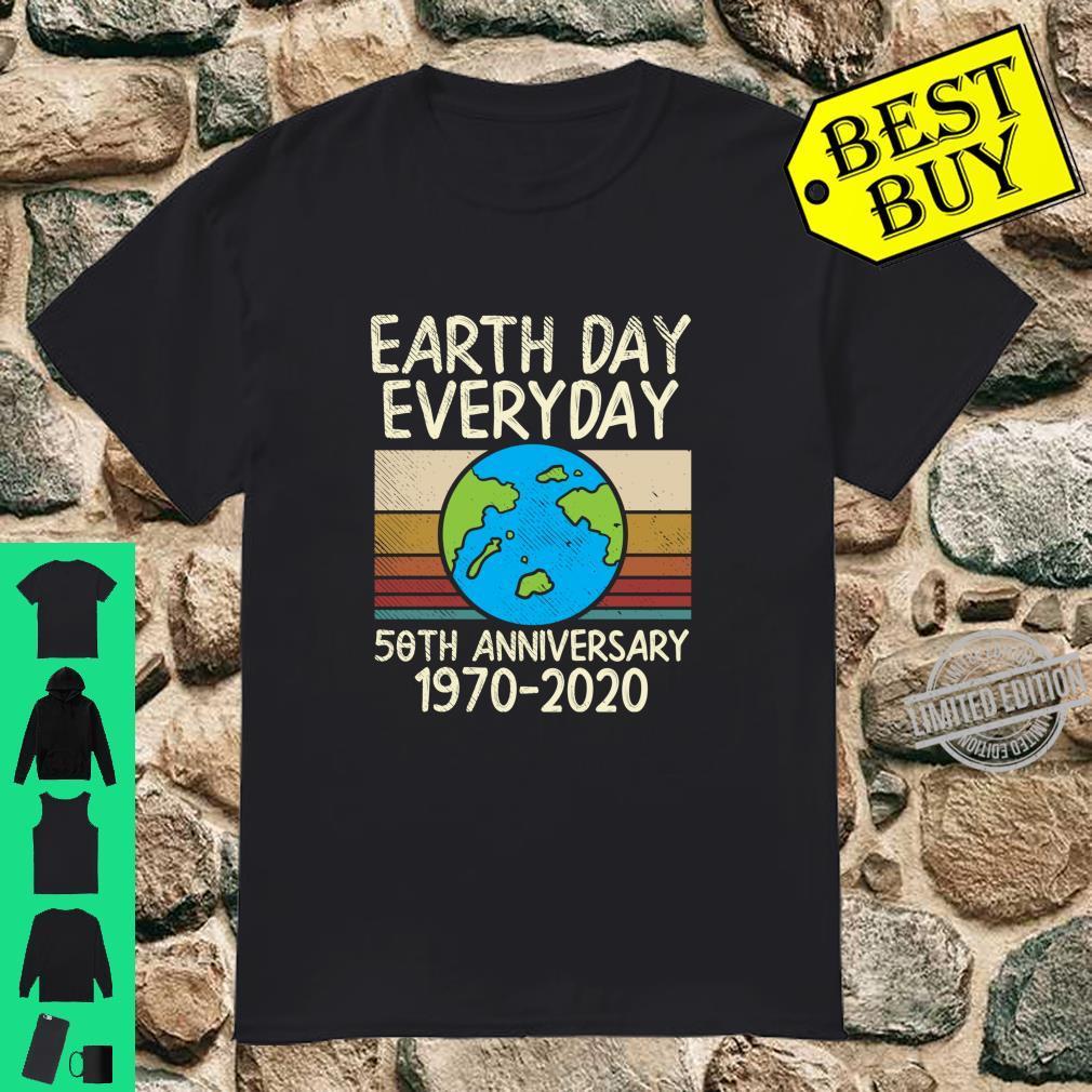 Earth Day Everyday 50th Anniversary 19702020 Retro Shirt