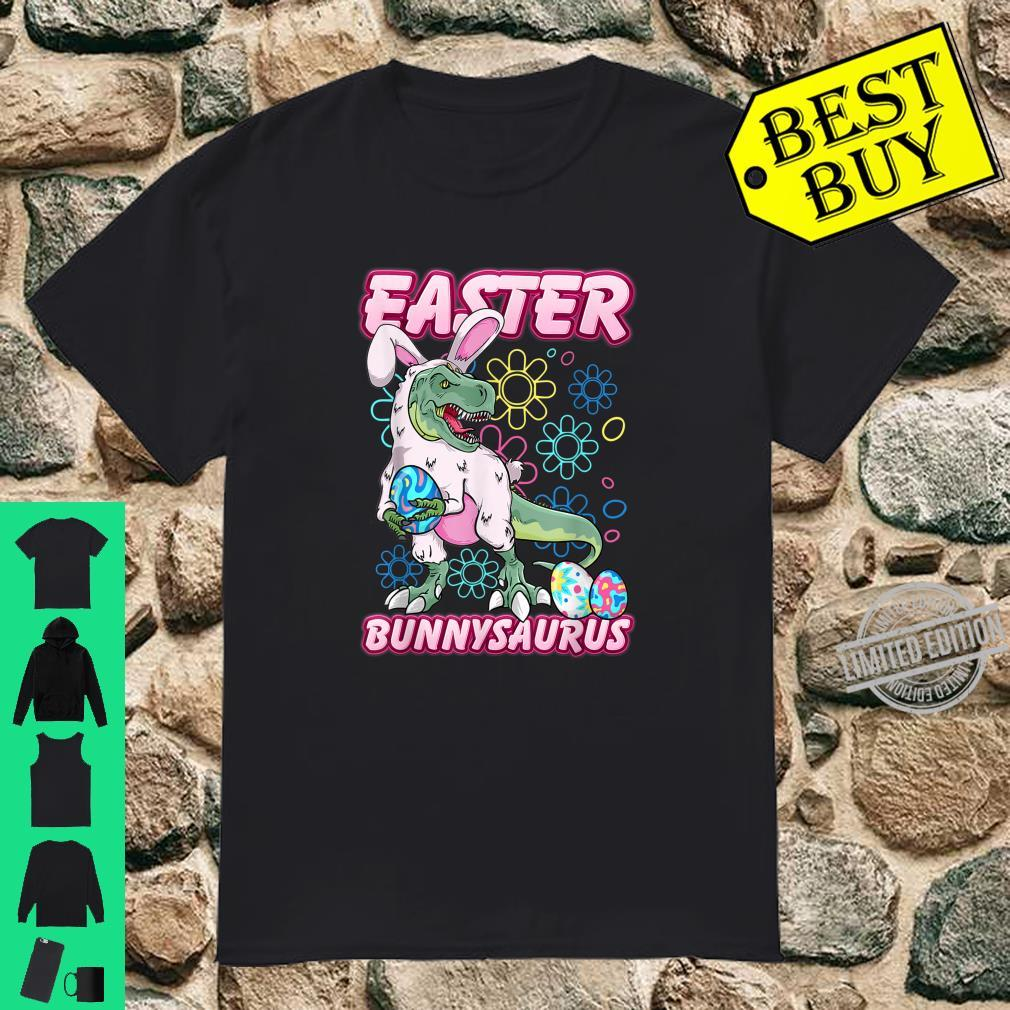 Easter Dinosaur Shirt Bunny Egg Hunt Boys Shirt