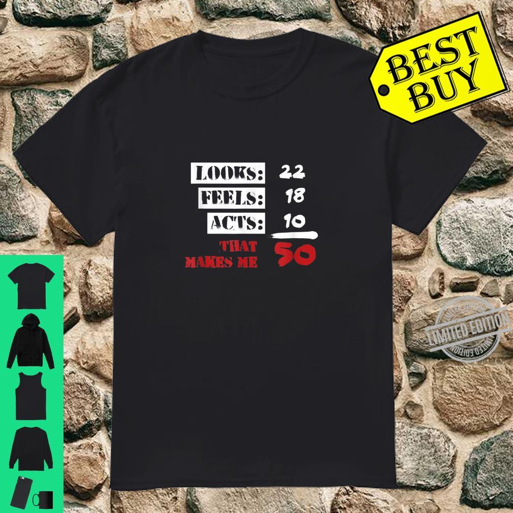 Funny 50 Years Olds 50th Birthday 1960s Shirt