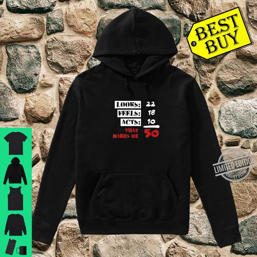 Funny 50 Years Olds 50th Birthday 1960s Shirt hoodie