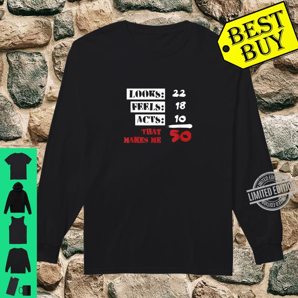 Funny 50 Years Olds 50th Birthday 1960s Shirt long sleeved