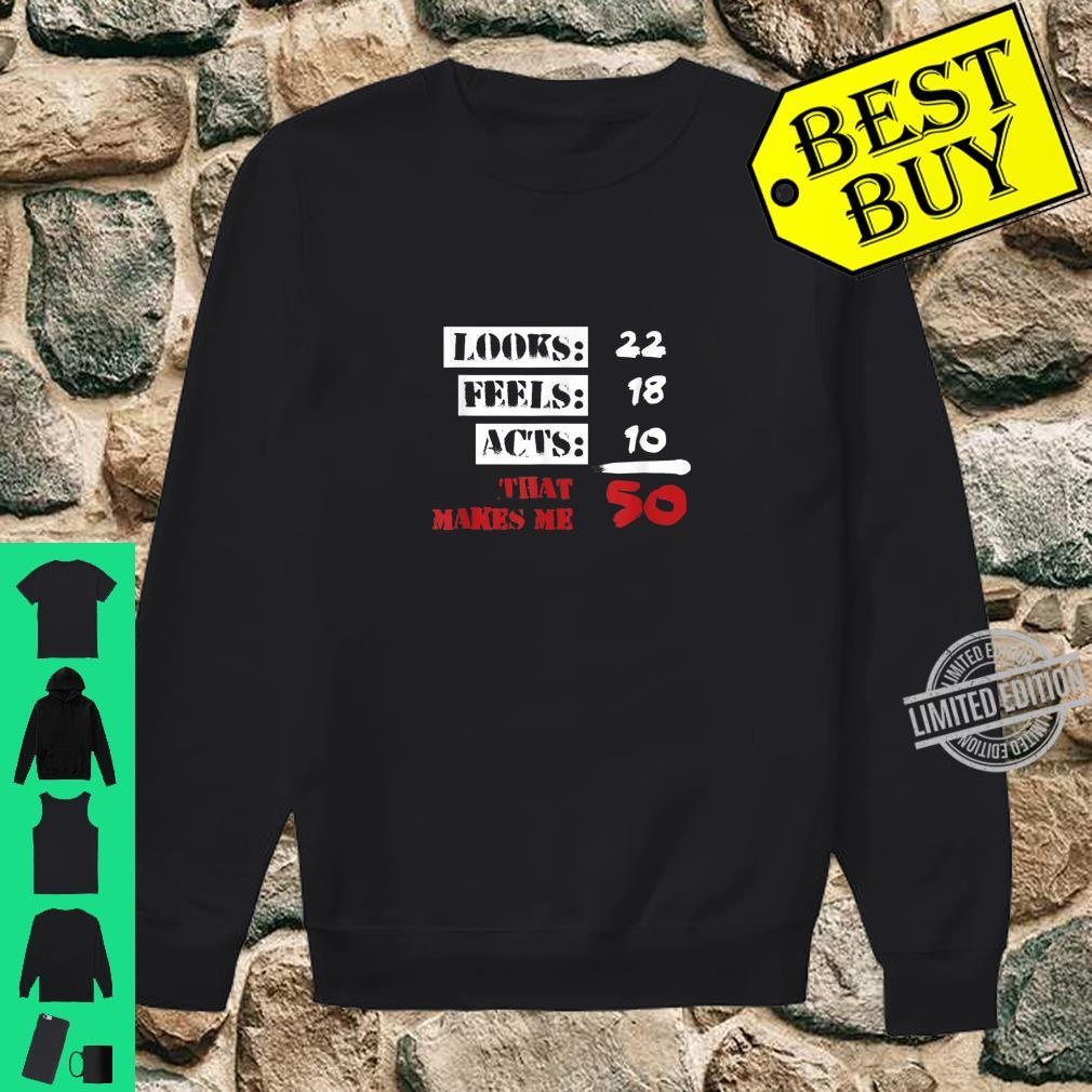 Funny 50 Years Olds 50th Birthday 1960s Shirt sweater