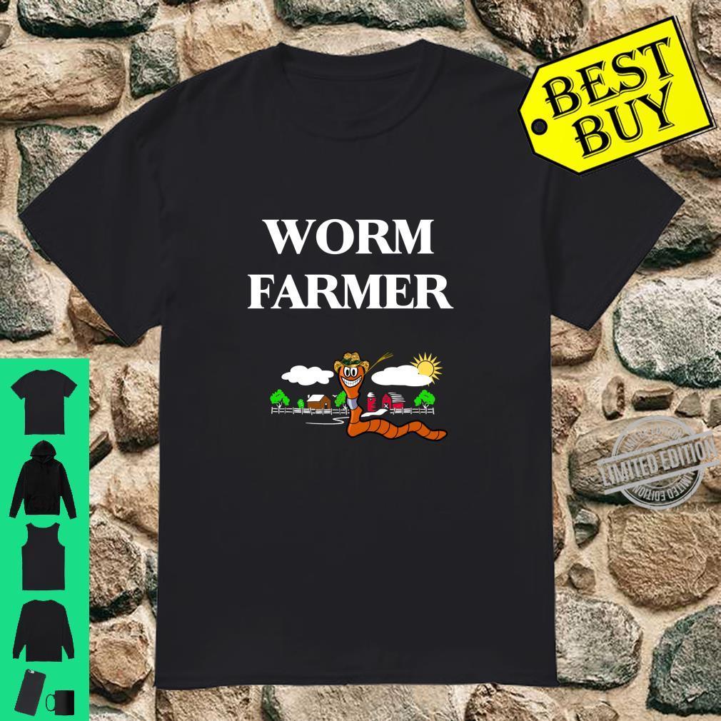 Funny Worm Farming Vermiculture Composting Shirt