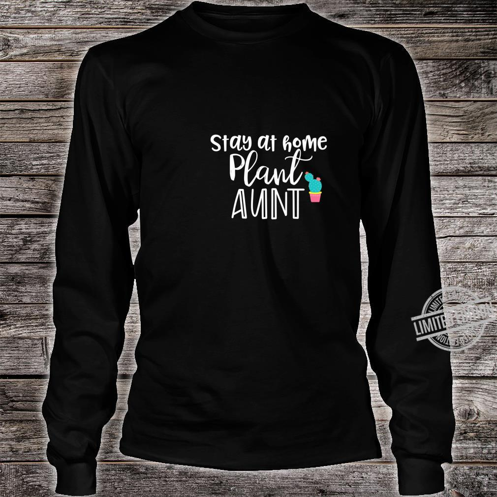 Gardening Gardens Plant Aunt Shirt long sleeved
