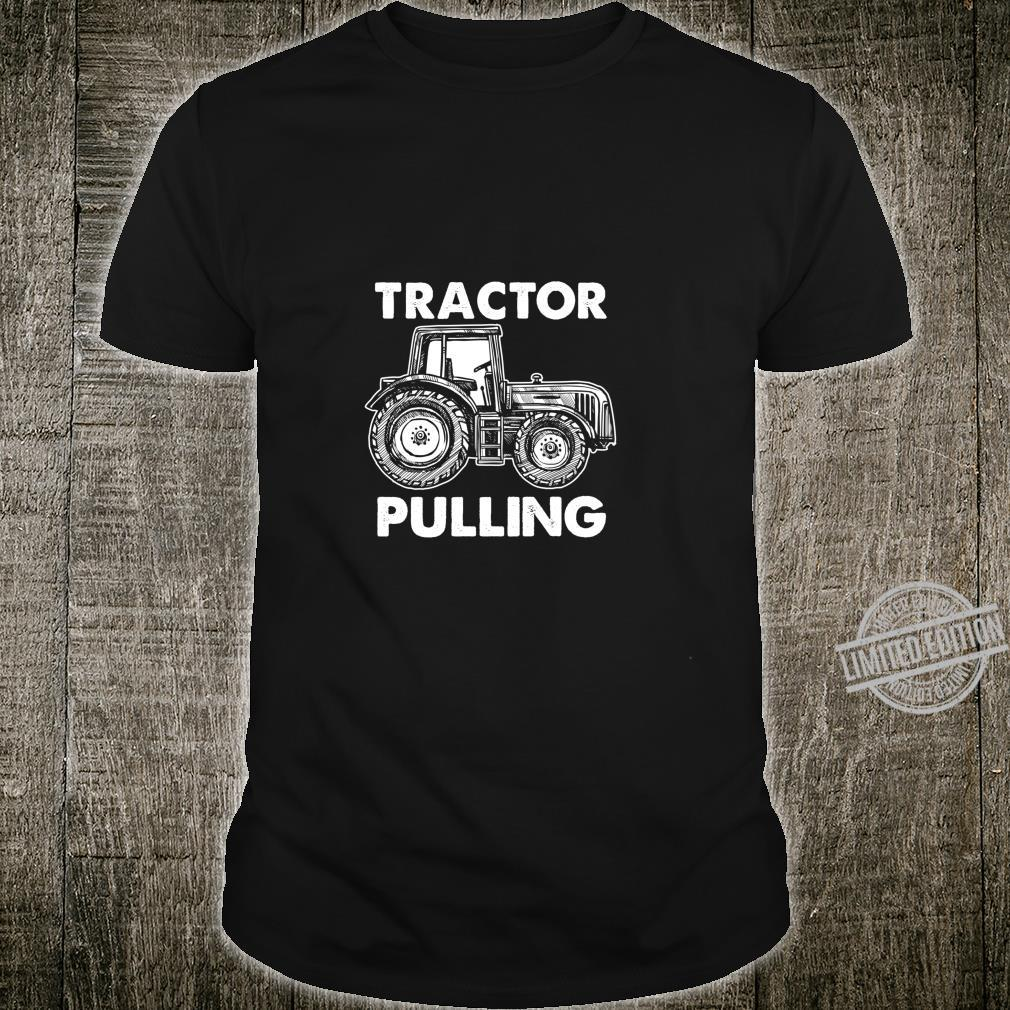 Gewerkschaft Arbeiter Fahrer Bauarbeiter Schlepper Ziehen Shirt