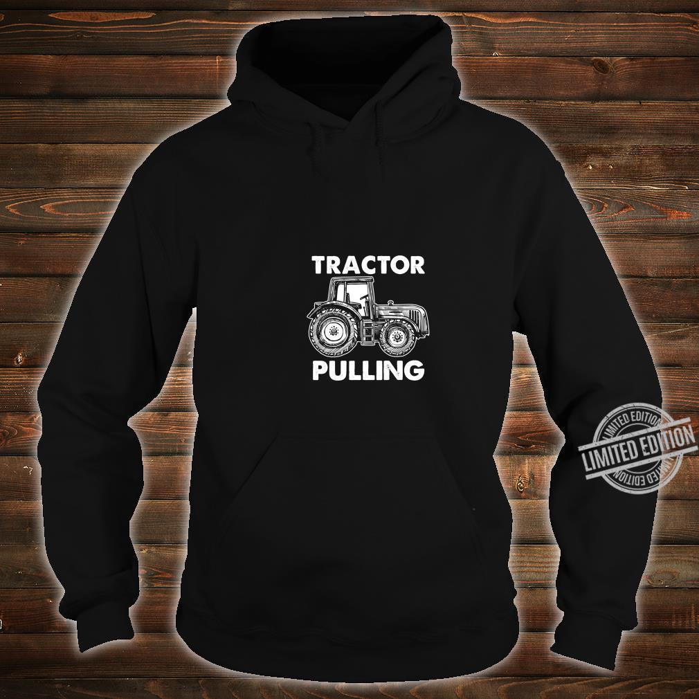 Gewerkschaft Arbeiter Fahrer Bauarbeiter Schlepper Ziehen Shirt hoodie