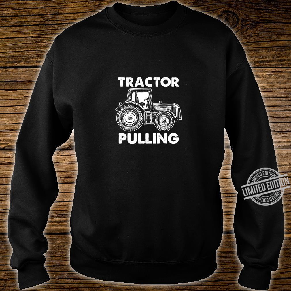 Gewerkschaft Arbeiter Fahrer Bauarbeiter Schlepper Ziehen Shirt sweater