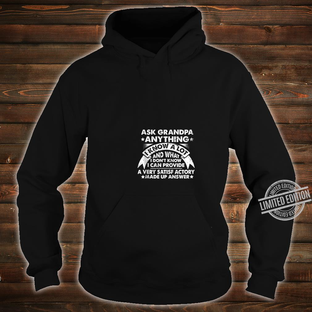 Grandpa Dad father in law husband birthday present Shirt hoodie