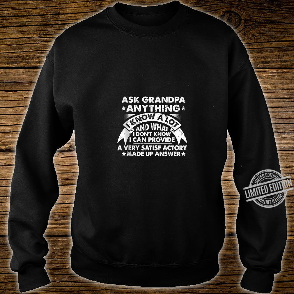 Grandpa Dad father in law husband birthday present Shirt sweater