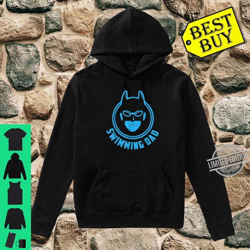 I Love Swimming Swimming Dad Shirt hoodie