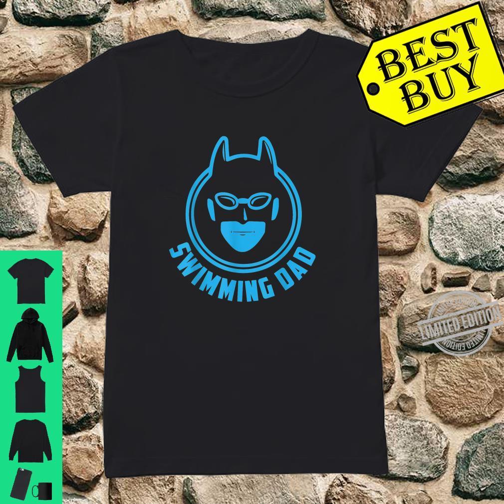 I Love Swimming Swimming Dad Shirt ladies tee