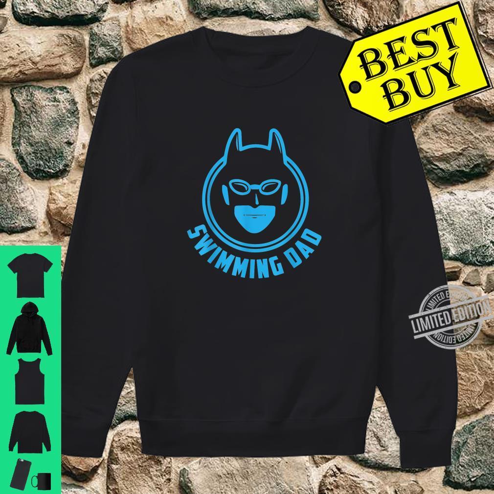 I Love Swimming Swimming Dad Shirt sweater