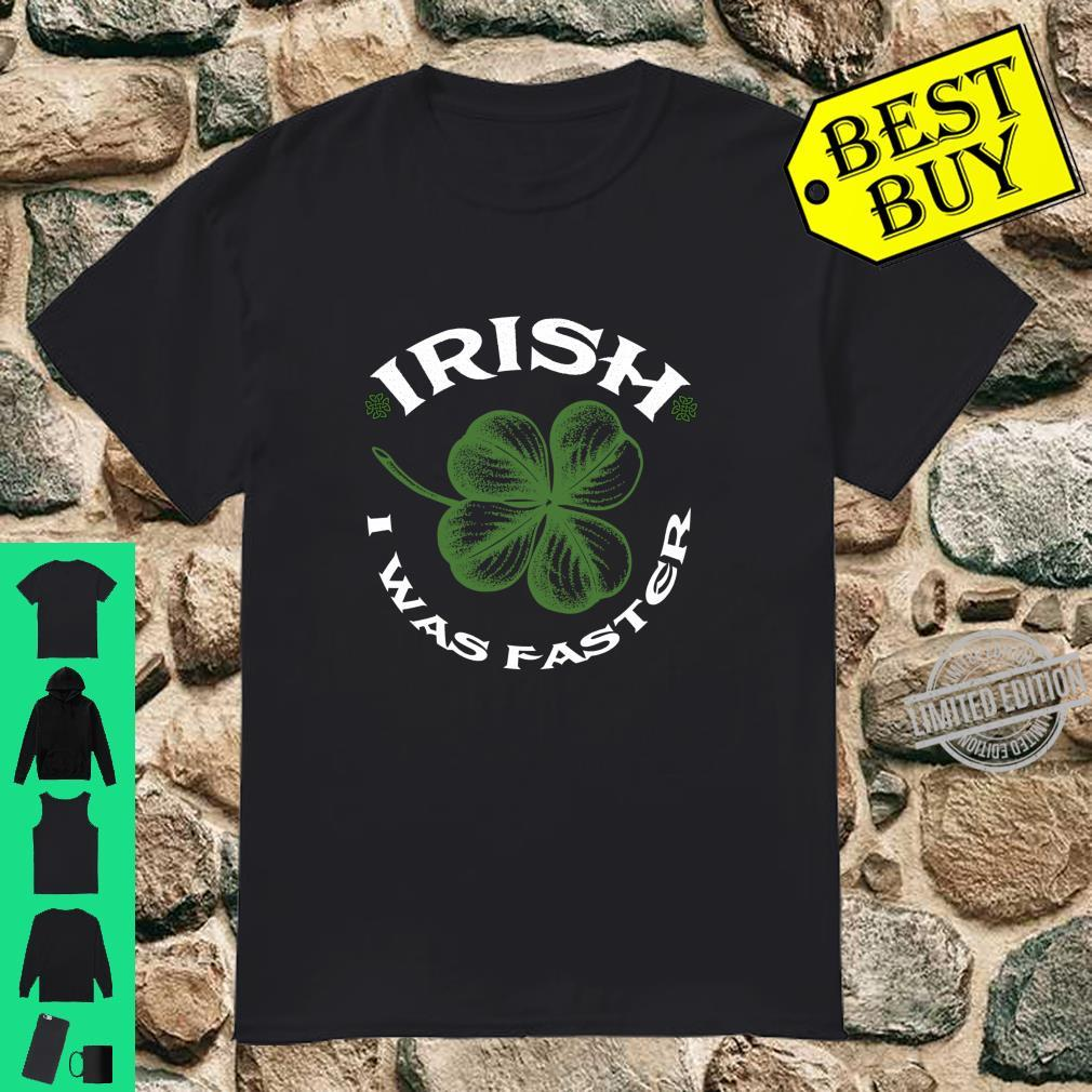 Irish I Was Faster Running St.Patrick's Day Shamrock Shirt