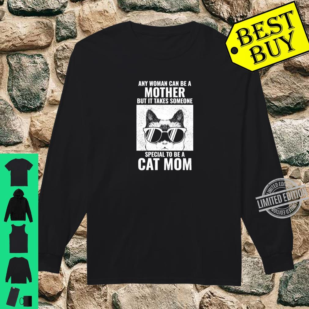 It takes someone special to be cat mom Shirt long sleeved