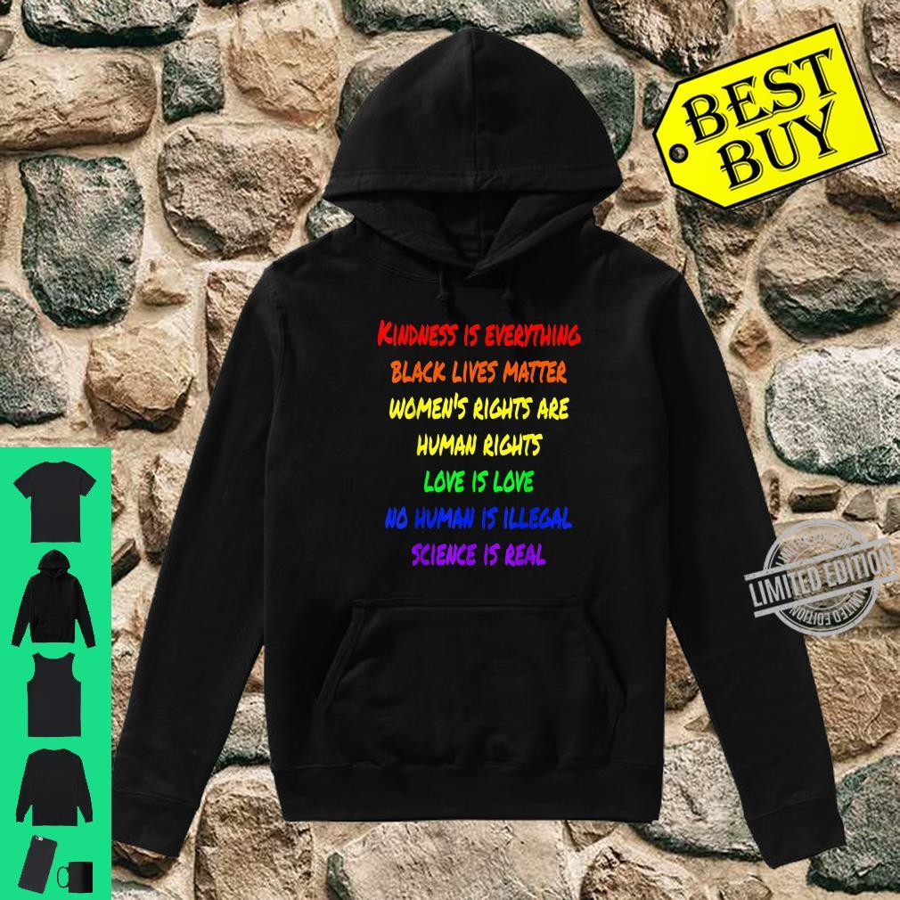 Kindness Is Everything Black Lives Matter Love Is Love Shirt hoodie