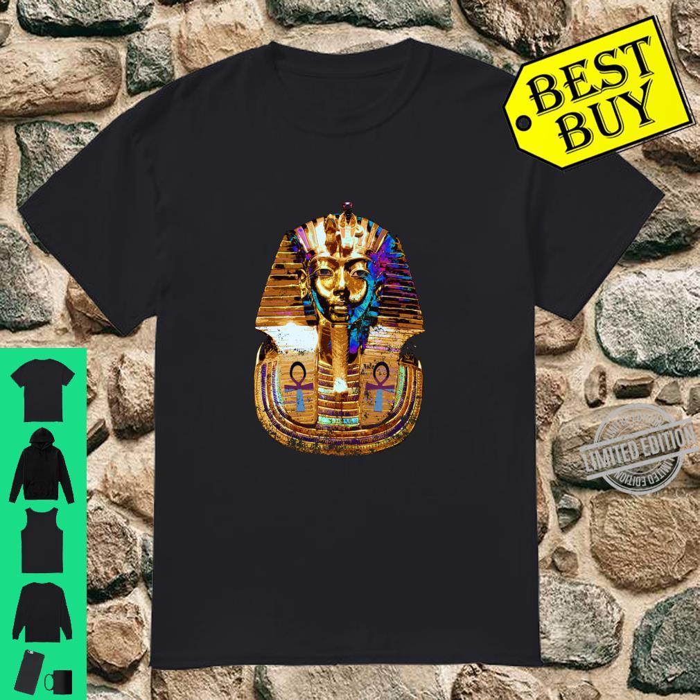 King Tut Art With Ankh Shirt