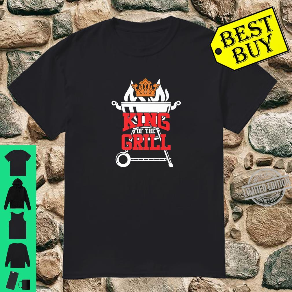 King of the Grill bbq meat eater barbecue grilling Shirt